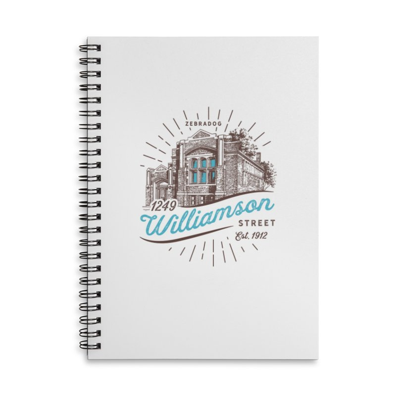 Vibe 1935 Accessories Lined Spiral Notebook by Zebradog Apparel & Accessories