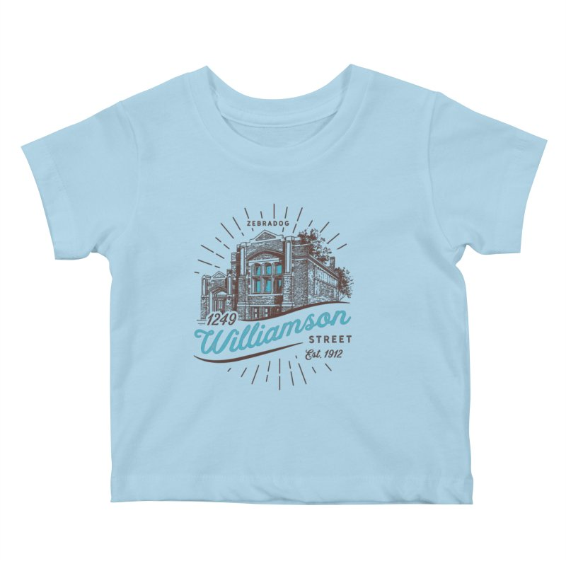 Vibe 1935 Kids Baby T-Shirt by Zebradog Apparel & Accessories