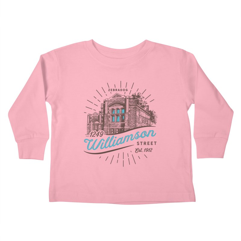 Vibe 1935 Kids Toddler Longsleeve T-Shirt by Zebradog Apparel & Accessories