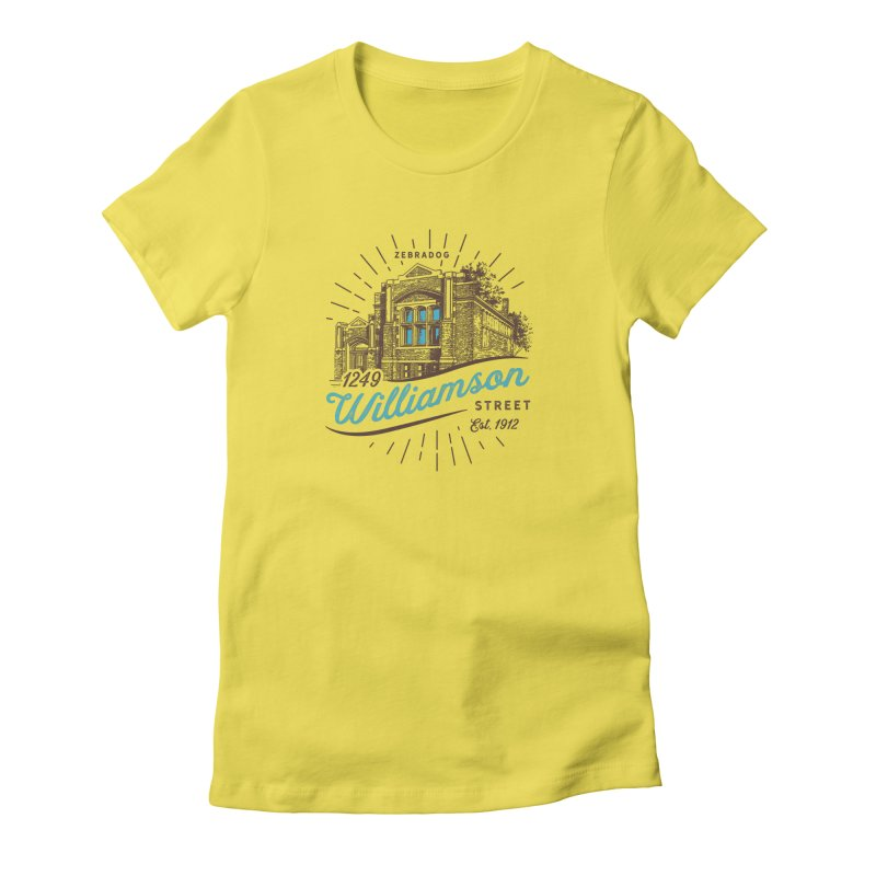Vibe 1935 Women's Fitted T-Shirt by Zebradog Apparel & Accessories