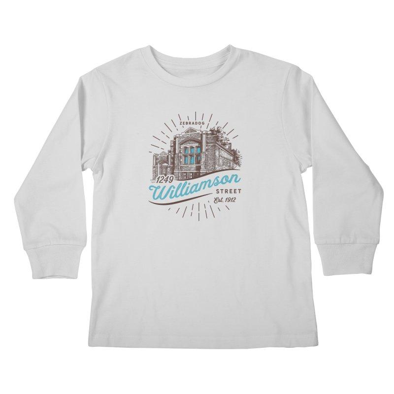 Vibe 1935 Kids Longsleeve T-Shirt by Zebradog Apparel & Accessories