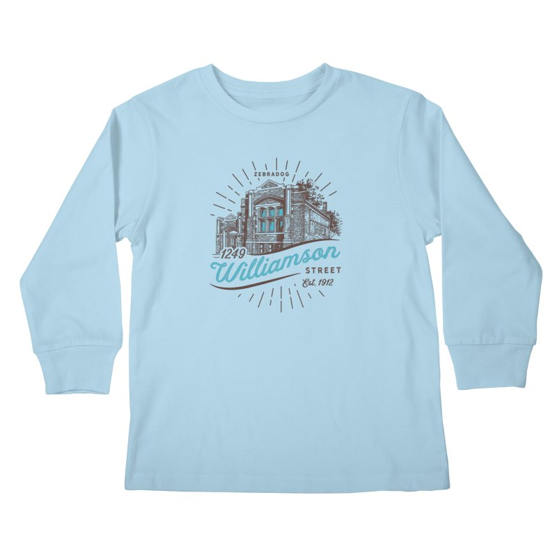 Vibe 1935 Kids Longsleeve T-Shirt by Zebradog Apparel & Accessories