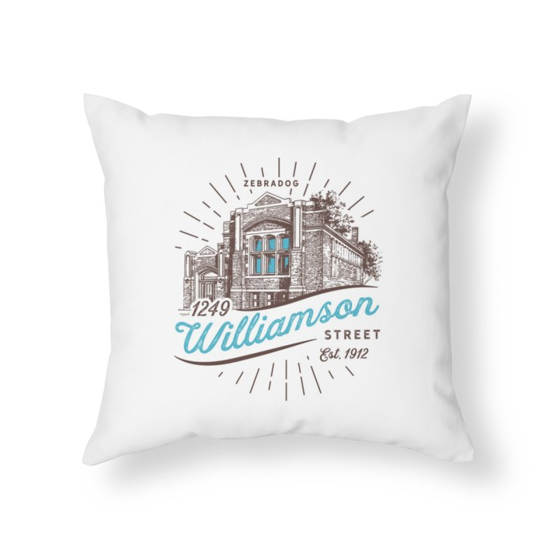 Vibe 1935 Home Throw Pillow by Zebradog Apparel & Accessories
