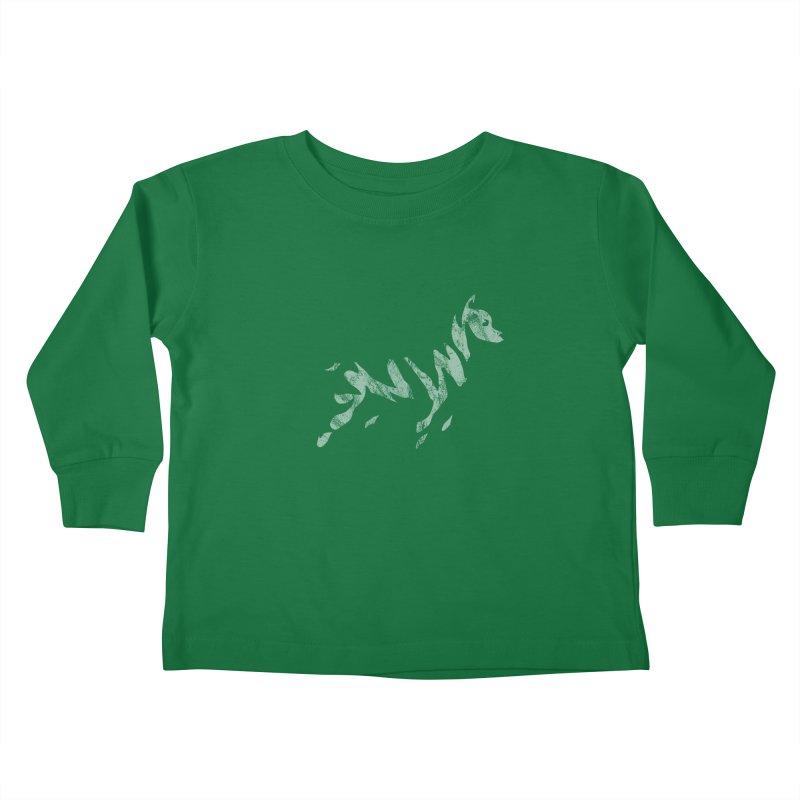Ghost Dog Kids Toddler Longsleeve T-Shirt by Zebradog Apparel & Accessories