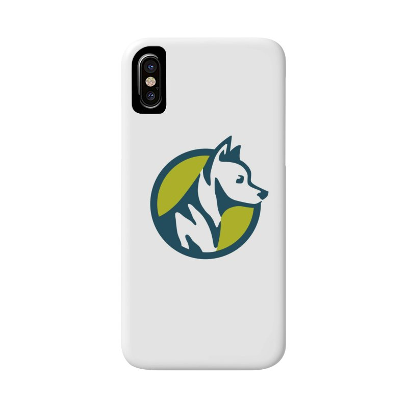 ZEBRADOG Button Icon Accessories Phone Case by Zebradog Apparel & Accessories
