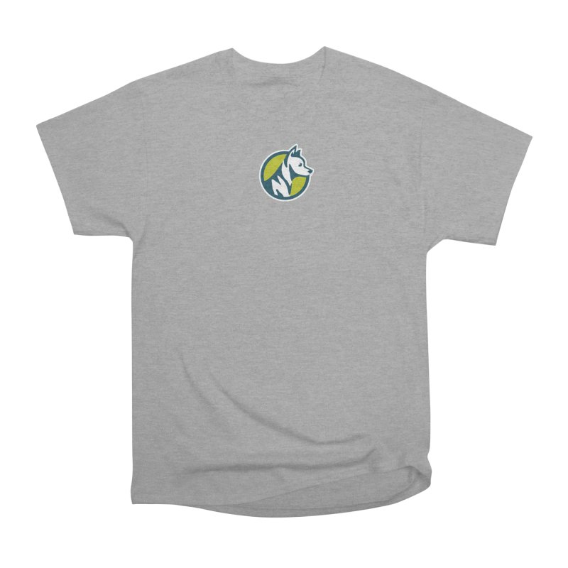 ZEBRADOG Button Icon Women's Heavyweight Unisex T-Shirt by Zebradog Apparel & Accessories