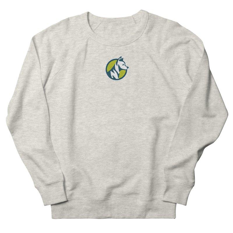 ZEBRADOG Button Icon Men's Sweatshirt by Zebradog Apparel & Accessories