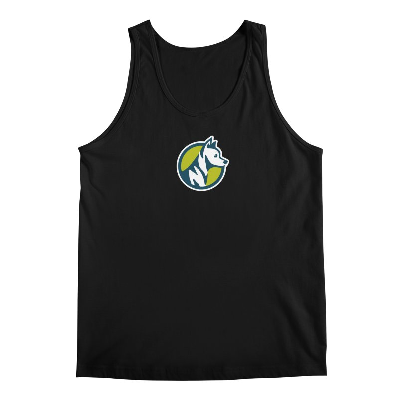 ZEBRADOG Button Icon Men's Regular Tank by Zebradog Apparel & Accessories