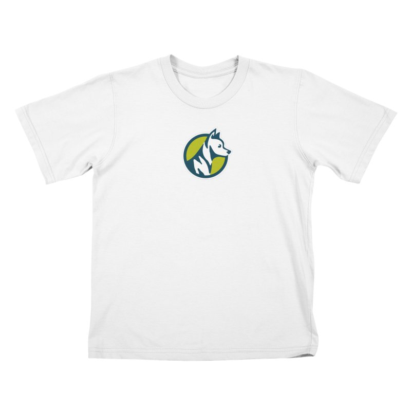 ZEBRADOG Button Icon Kids T-Shirt by Zebradog Apparel & Accessories