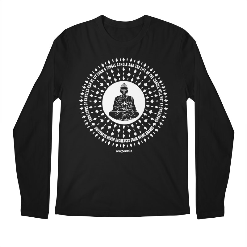 Thousands of candles Men's Longsleeve T-Shirt by ZEN PENCILS Apparel