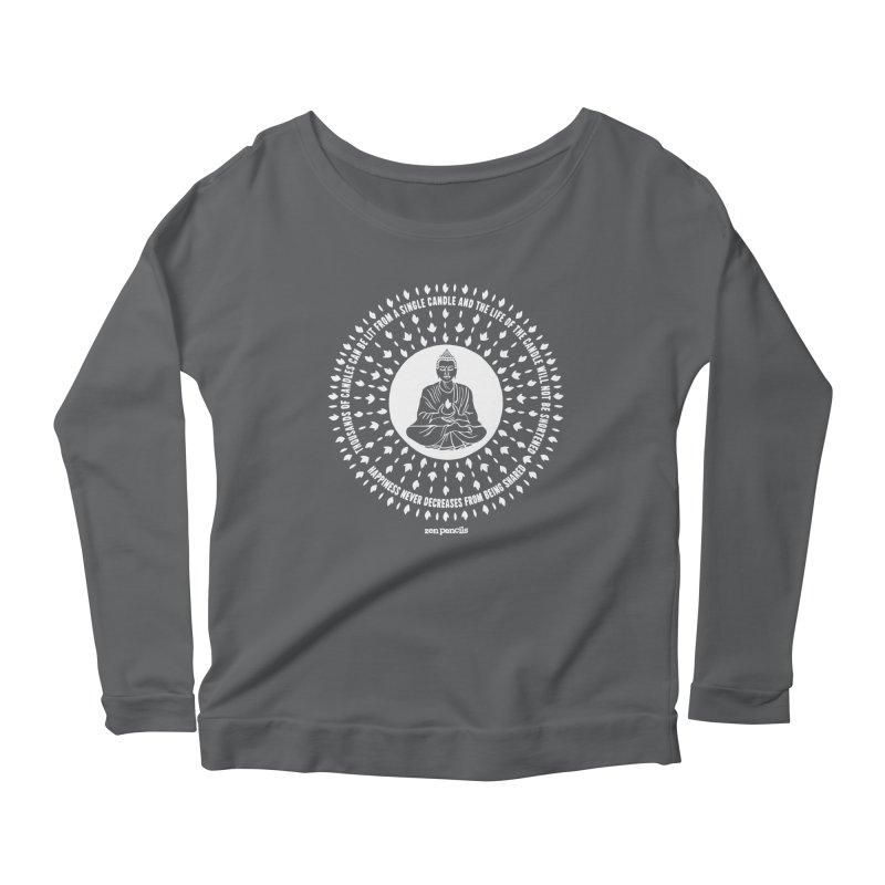 Thousands of candles Women's Scoop Neck Longsleeve T-Shirt by ZEN PENCILS Apparel