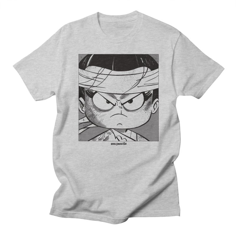 My Spirit is a Roaring Sea Men's Regular T-Shirt by ZEN PENCILS Apparel