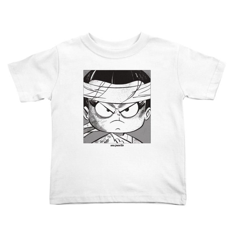 My Spirit is a Roaring Sea Kids Toddler T-Shirt by ZEN PENCILS Apparel
