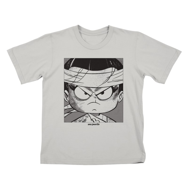My Spirit is a Roaring Sea Kids T-shirt by ZEN PENCILS Apparel