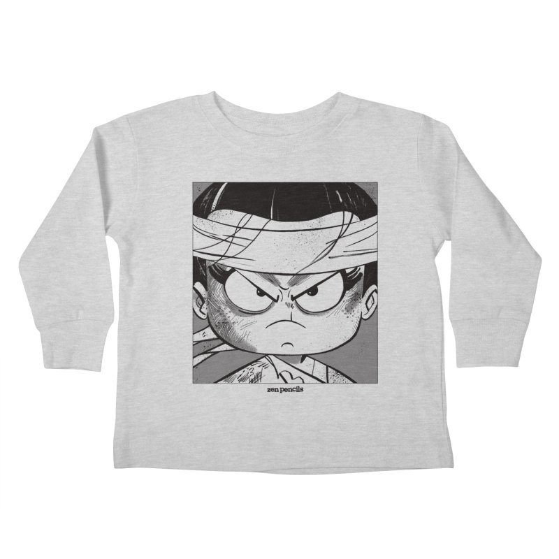 My Spirit is a Roaring Sea Kids Toddler Longsleeve T-Shirt by ZEN PENCILS Apparel
