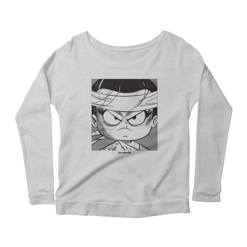 My Spirit is a Roaring Sea Women's Scoop Neck Longsleeve T-Shirt by ZEN PENCILS Apparel