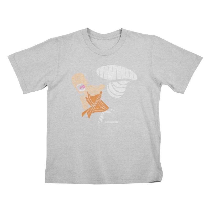 Shaolin monk Kids T-Shirt by ZEN PENCILS Apparel