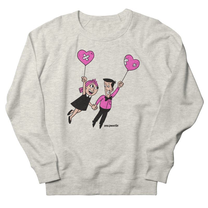 To Love at All Men's French Terry Sweatshirt by ZEN PENCILS Apparel