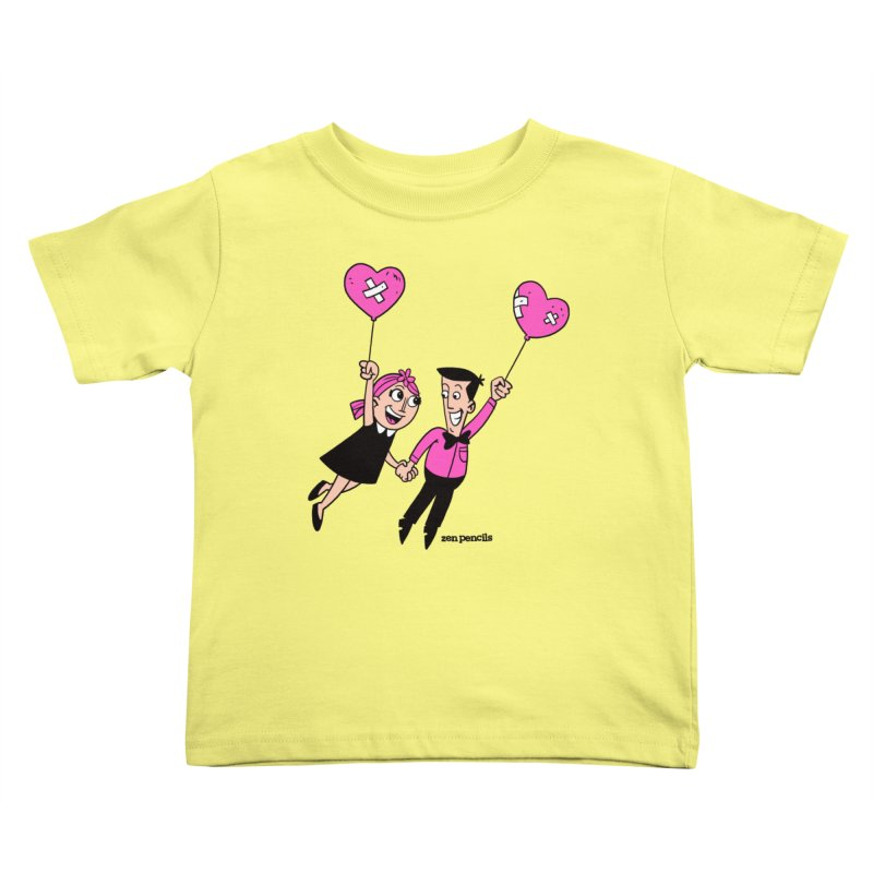 To Love at All Kids Toddler T-Shirt by ZEN PENCILS Apparel