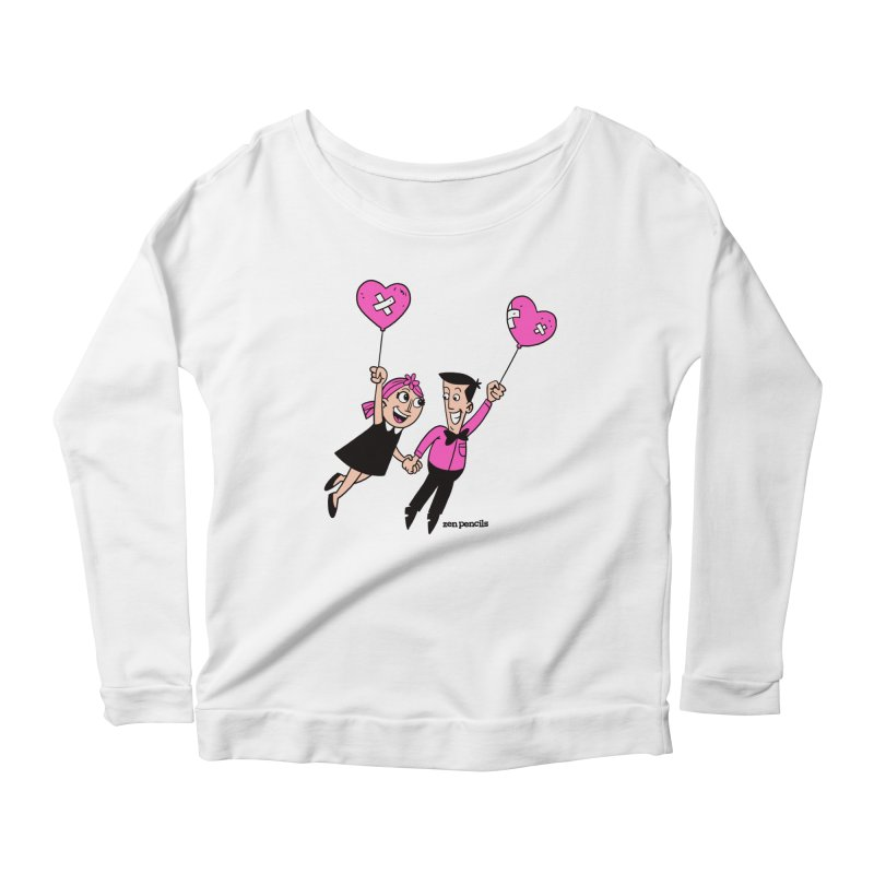 To Love at All Women's Scoop Neck Longsleeve T-Shirt by ZEN PENCILS Apparel