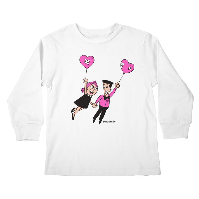 To Love at All Kids Longsleeve T-Shirt by ZEN PENCILS Apparel