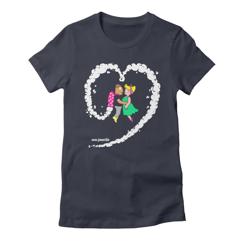 The Can-Do Girl Women's Fitted T-Shirt by ZEN PENCILS Apparel