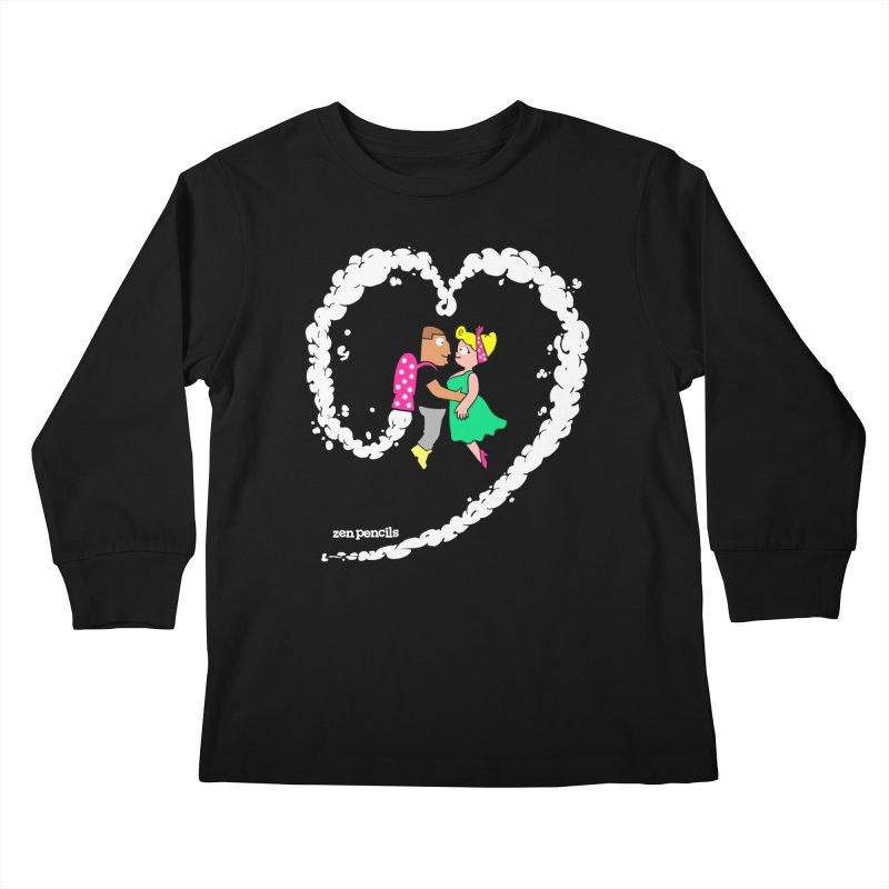 The Can-Do Girl Kids Longsleeve T-Shirt by ZEN PENCILS Apparel