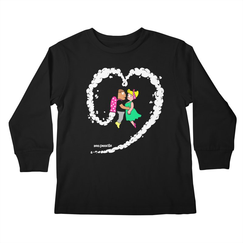 The Can-Do Girl Kids Longsleeve T-Shirt by ZEN PENCILS Apparel