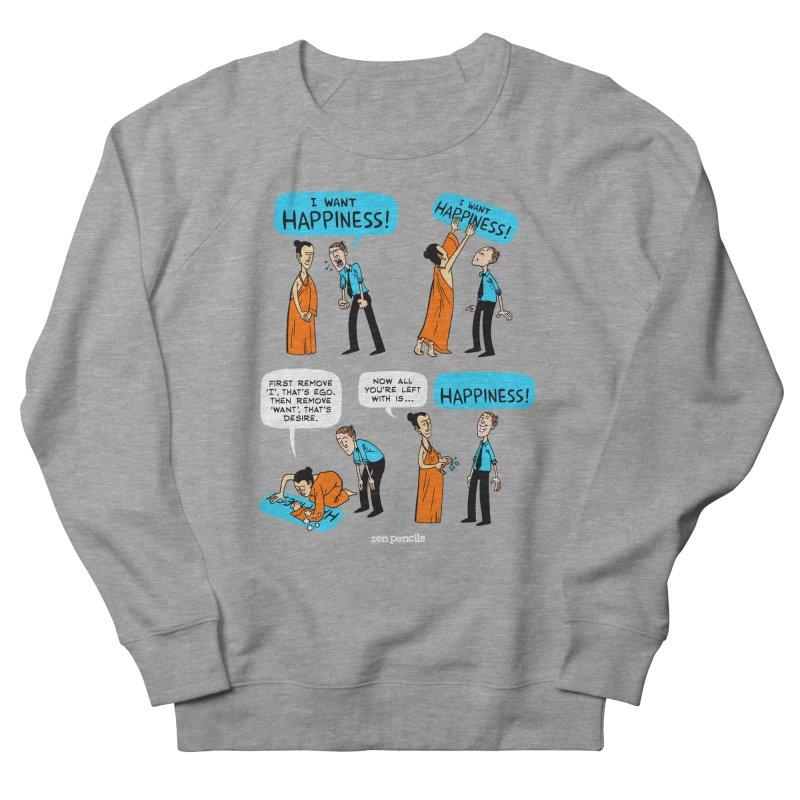 Happiness Men's Sweatshirt by ZEN PENCILS Apparel
