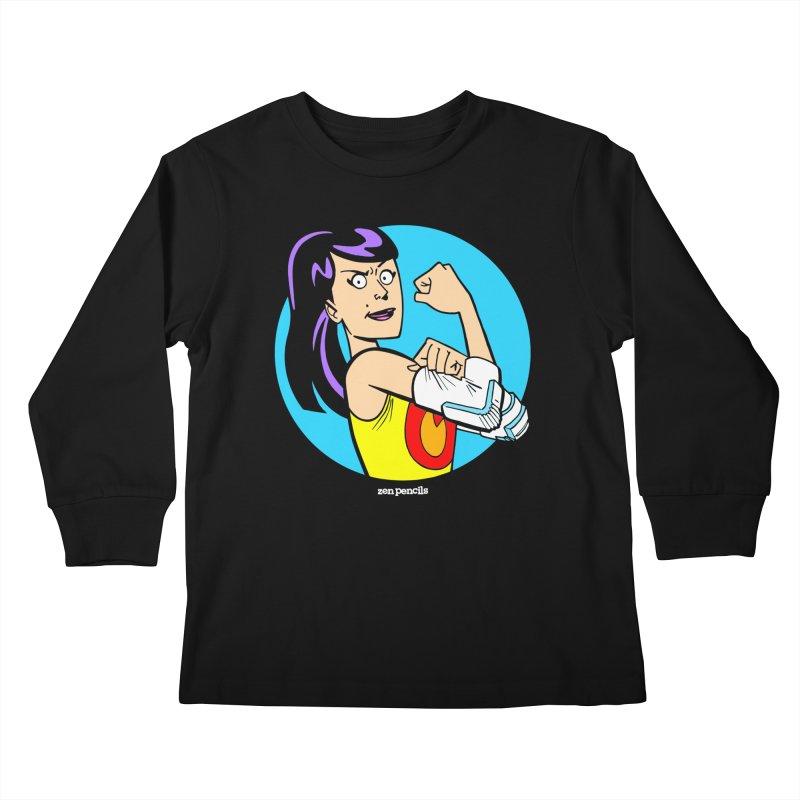 Rising Phoenix Kids Longsleeve T-Shirt by ZEN PENCILS Apparel