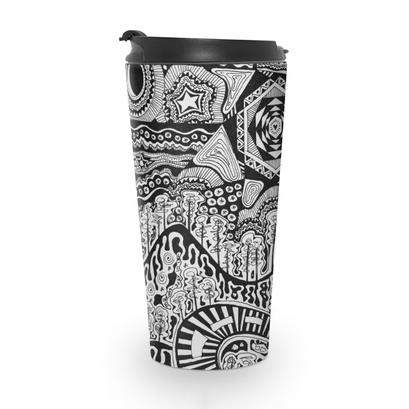 Lost In The Pilliga Accessories Travel Mug by 3boysenberries