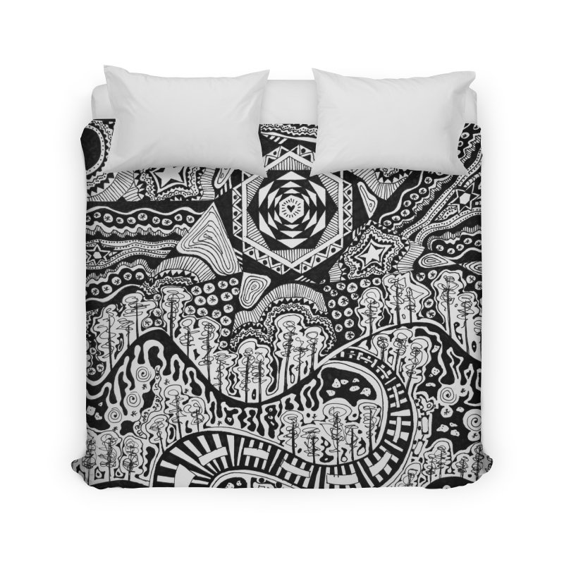 Lost In The Pilliga Home Duvet by 3boysenberries