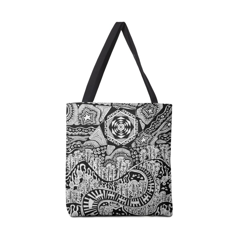 Lost In The Pilliga Accessories Tote Bag Bag by 3boysenberries
