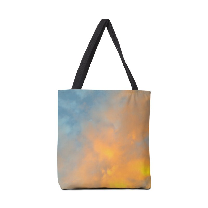 Golden Blue Sky Accessories Tote Bag Bag by 3boysenberries
