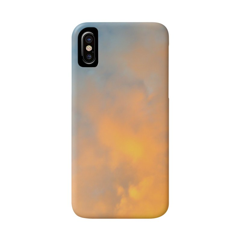 Golden Blue Sky Accessories Phone Case by 3boysenberries