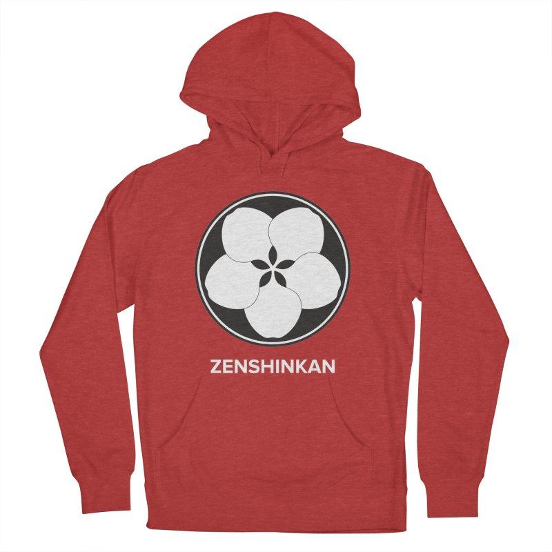 Zenshinkan  Women's French Terry Pullover Hoody by Zenshinkan's Shop