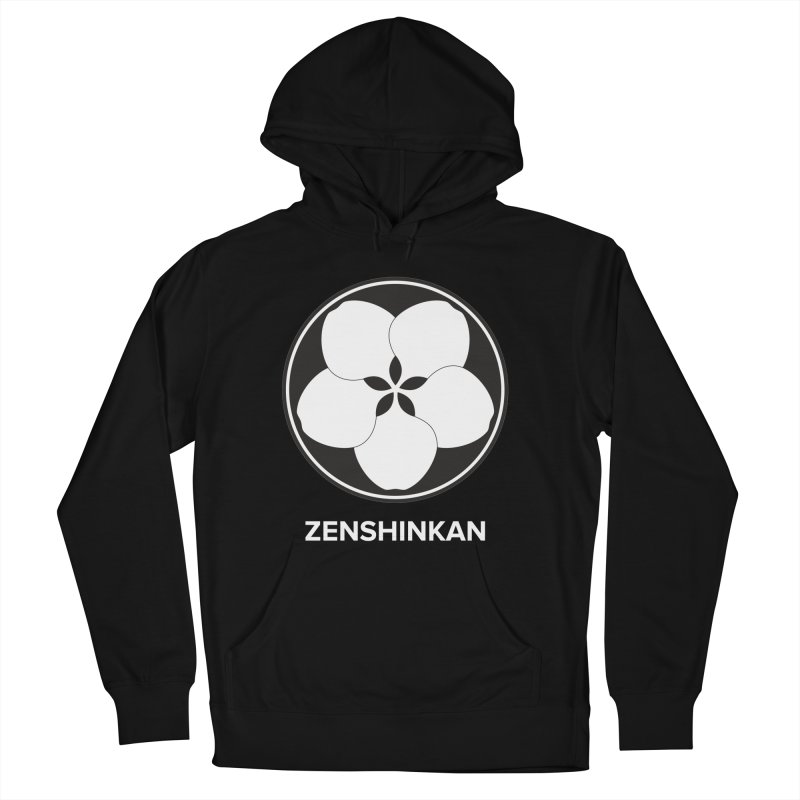 Zenshinkan  Men's French Terry Pullover Hoody by Zenshinkan's Shop