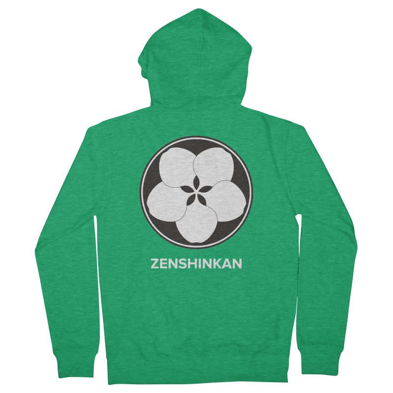 Zenshinkan  Women's Zip-Up Hoody by Zenshinkan's Shop