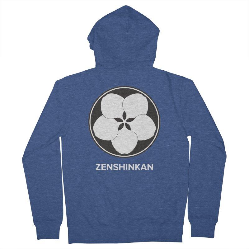 Zenshinkan  Women's French Terry Zip-Up Hoody by Zenshinkan's Shop