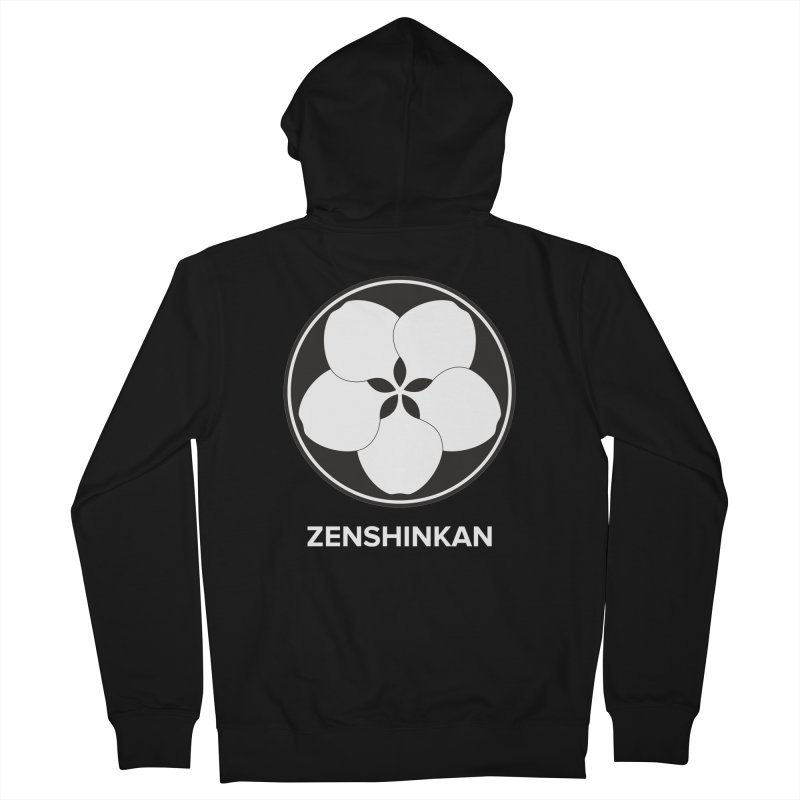 Zenshinkan  Women's Zip-Up Hoody by Zenshinkan's Shop