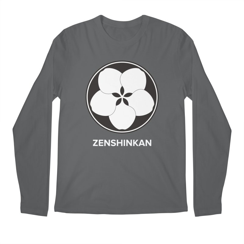 Zenshinkan  Men's Regular Longsleeve T-Shirt by Zenshinkan's Shop