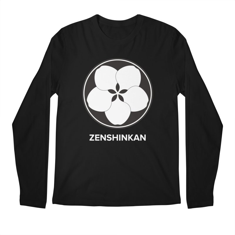 Zenshinkan  Men's Longsleeve T-Shirt by Zenshinkan's Shop