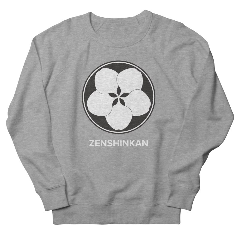 Zenshinkan  Women's French Terry Sweatshirt by Zenshinkan's Shop
