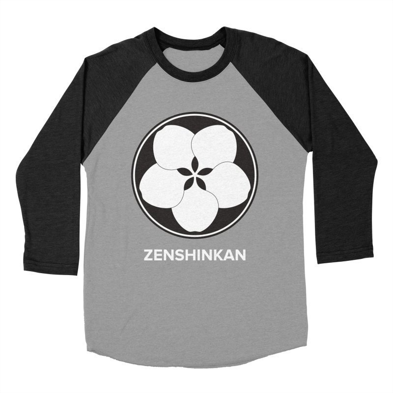 Zenshinkan  Women's Baseball Triblend T-Shirt by Zenshinkan's Shop