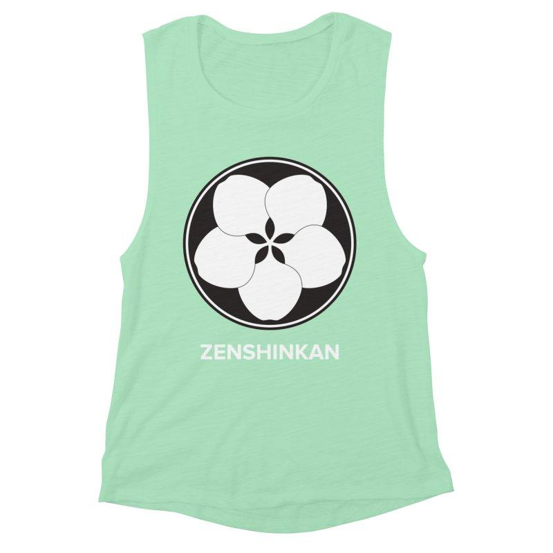 Zenshinkan  Women's Muscle Tank by Zenshinkan's Shop