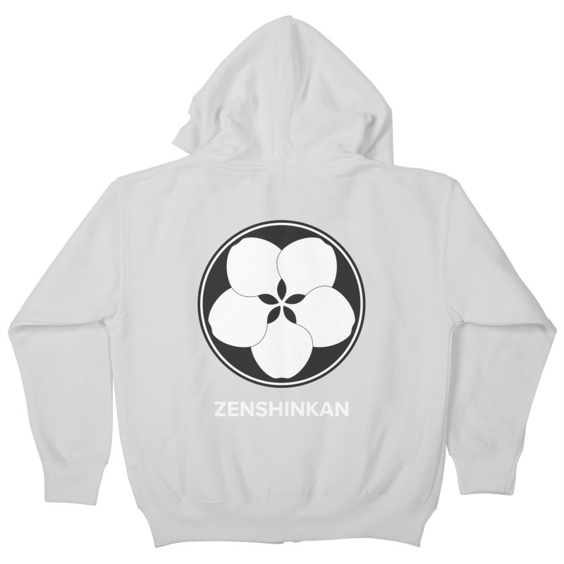 Zenshinkan  Kids Zip-Up Hoody by Zenshinkan's Shop
