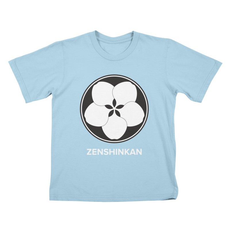 Zenshinkan  Kids T-Shirt by Zenshinkan's Shop