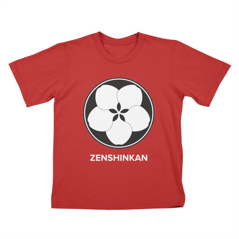 Zenshinkan  Kids T-Shirt by Zenshinkan's Shop