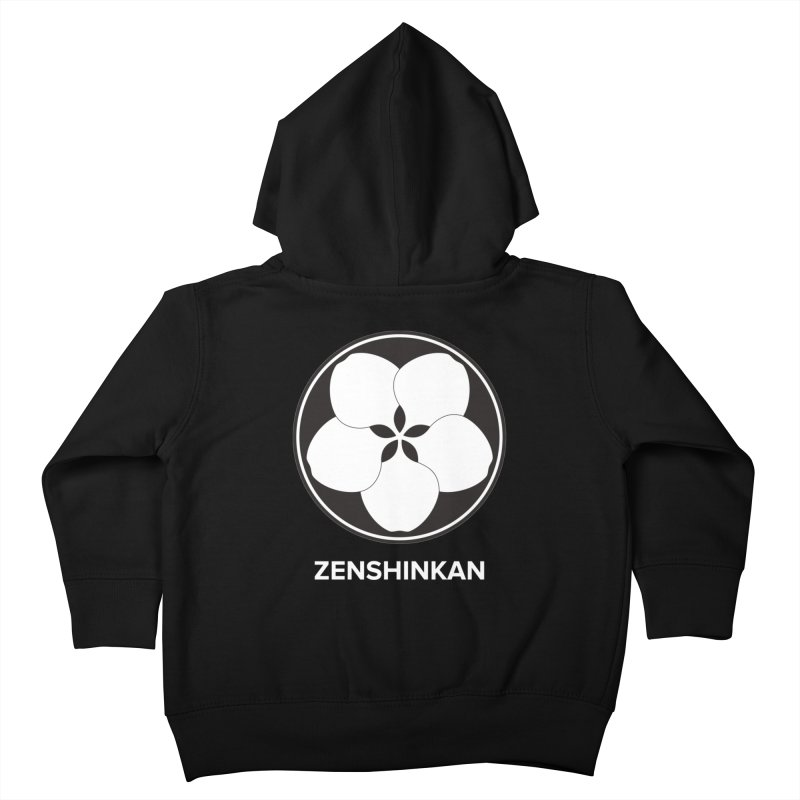 Zenshinkan  Kids Toddler Zip-Up Hoody by Zenshinkan's Shop