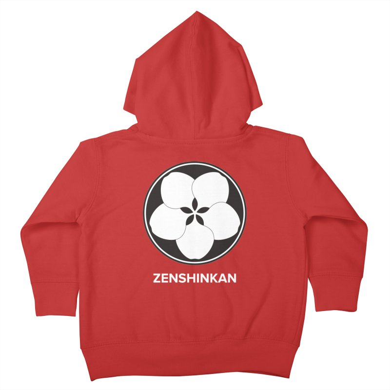 Zenshinkan  Kids Toddler Zip-Up Hoody by Zenshinkan's Shop